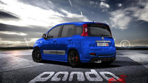 Abarth Panda Sport speculative rendering 28.02.2012