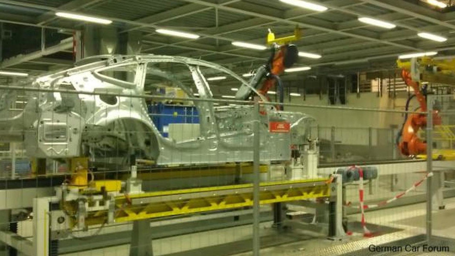 BMW 3-Series GT spied in a factory?