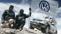 VW Touareg Sets World Altitude Record