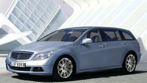 New Mercedes-Benz C-Class Estate - Artist Impression