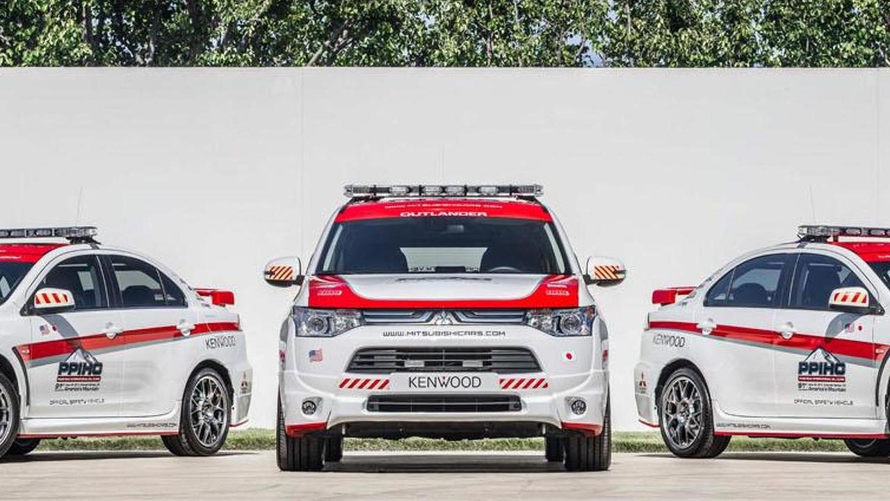 Mitsubishi Safety Vehicles for 2013 Pikes Peak Hill Climb 18.6.2013