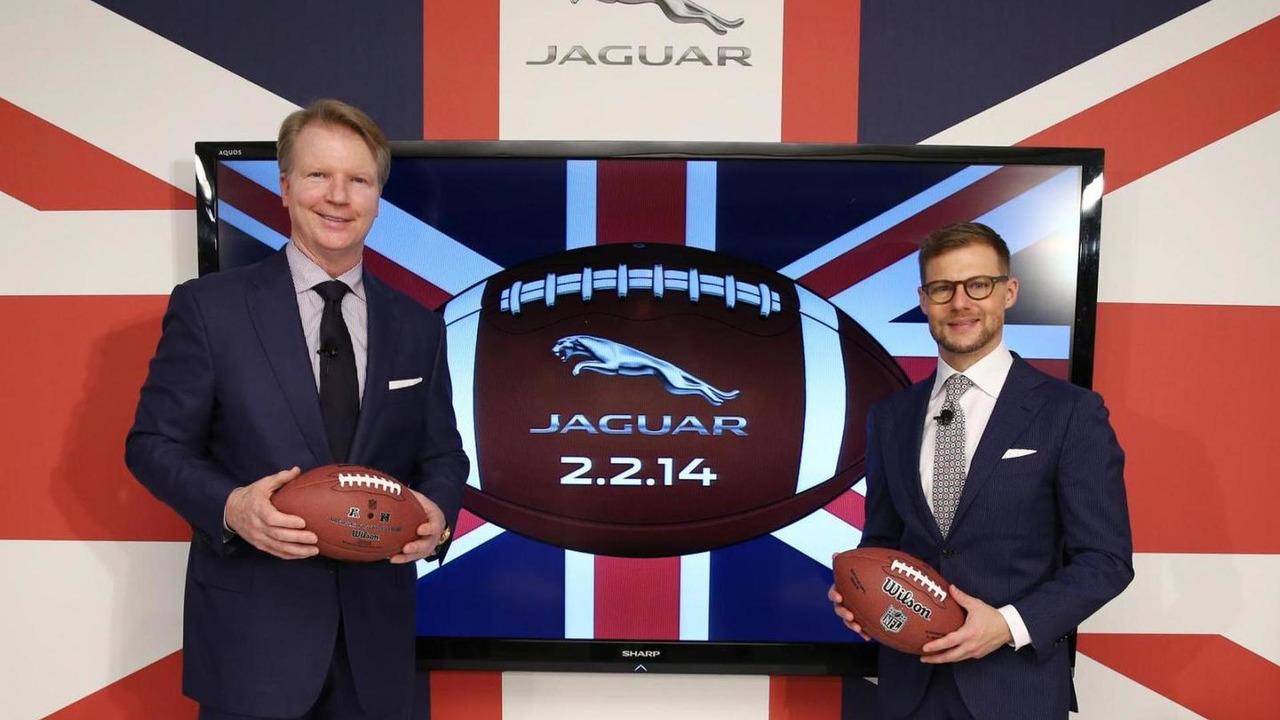 Jaguar Super Bowl ad announcement  08.11.2013
