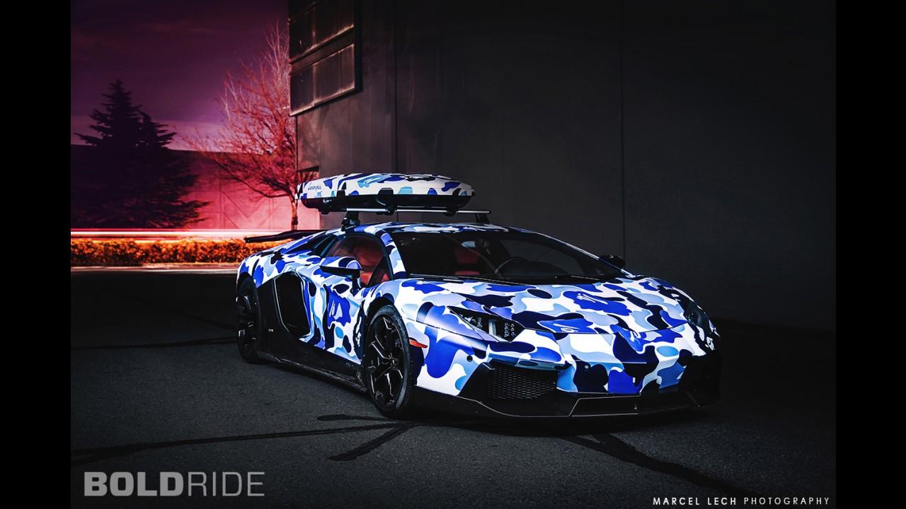 LB Bape Lamborghini Aventador