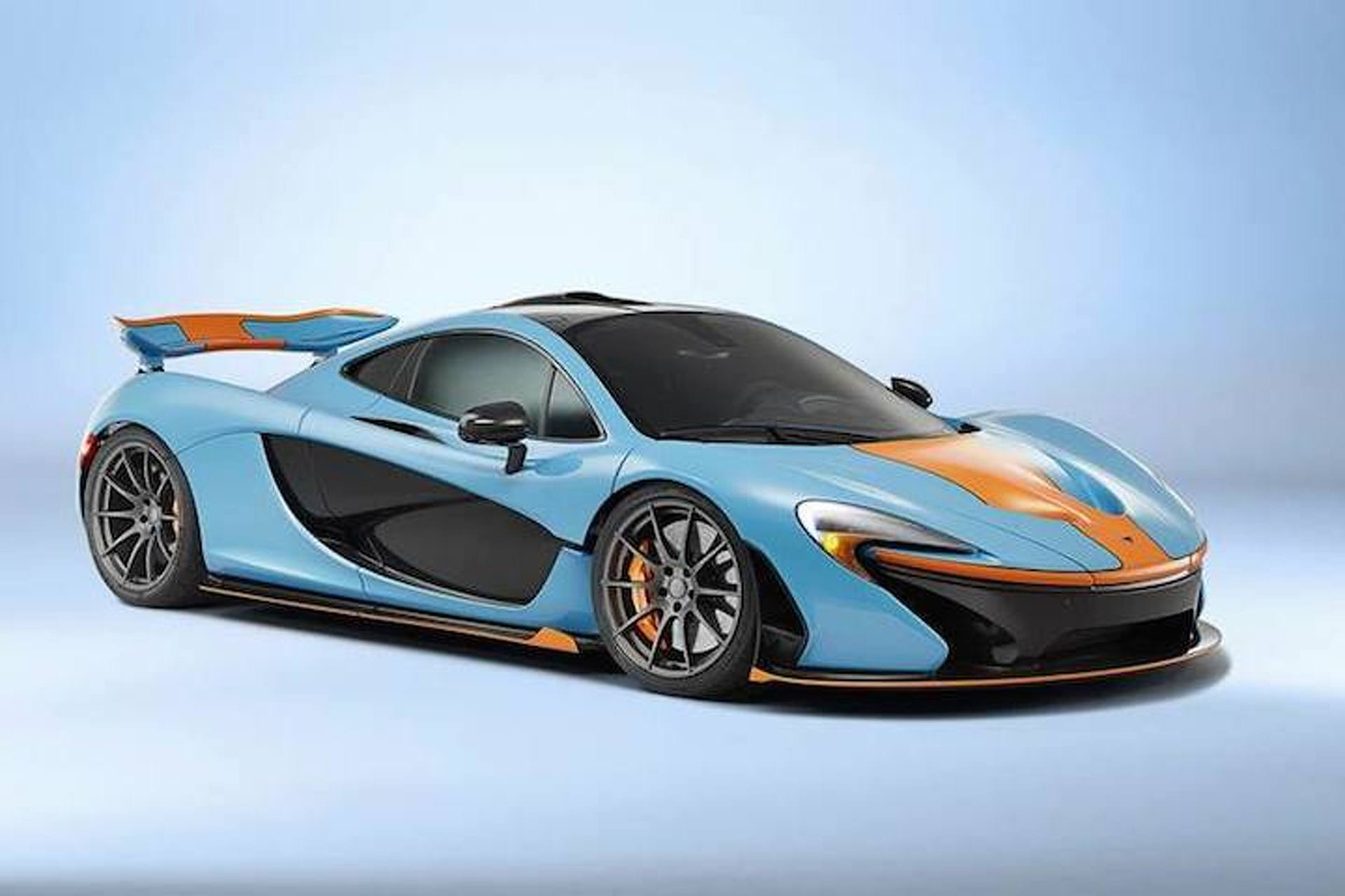 McLaren P1 Gulf Looks Absolutely Perfect