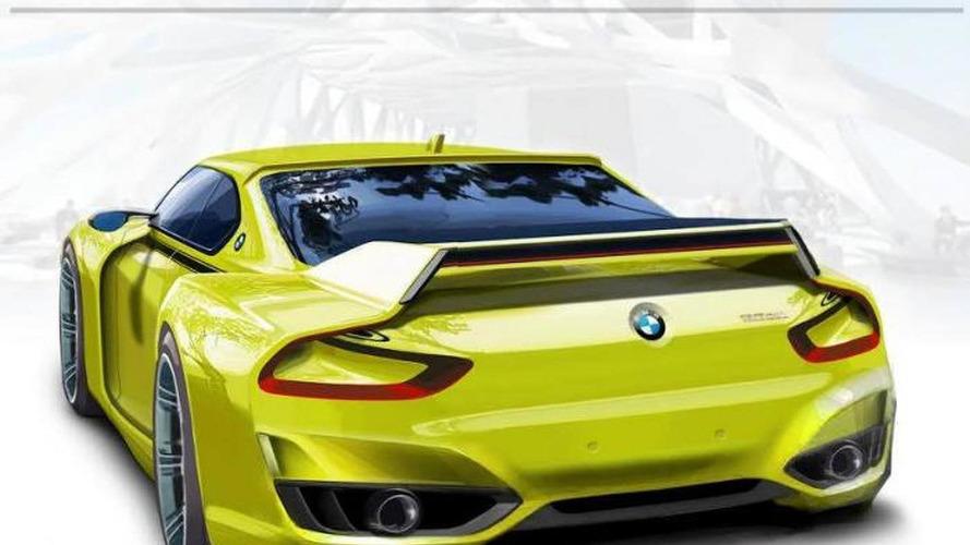 BMW 3.0 CSL Hommage concept rendered prior to Concorso d'Eleganza Villa d'Este debut