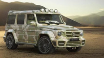 Mercedes-Benz G63 AMG Sahara Edition by Mansory is unsurprisingly flashy and expensive