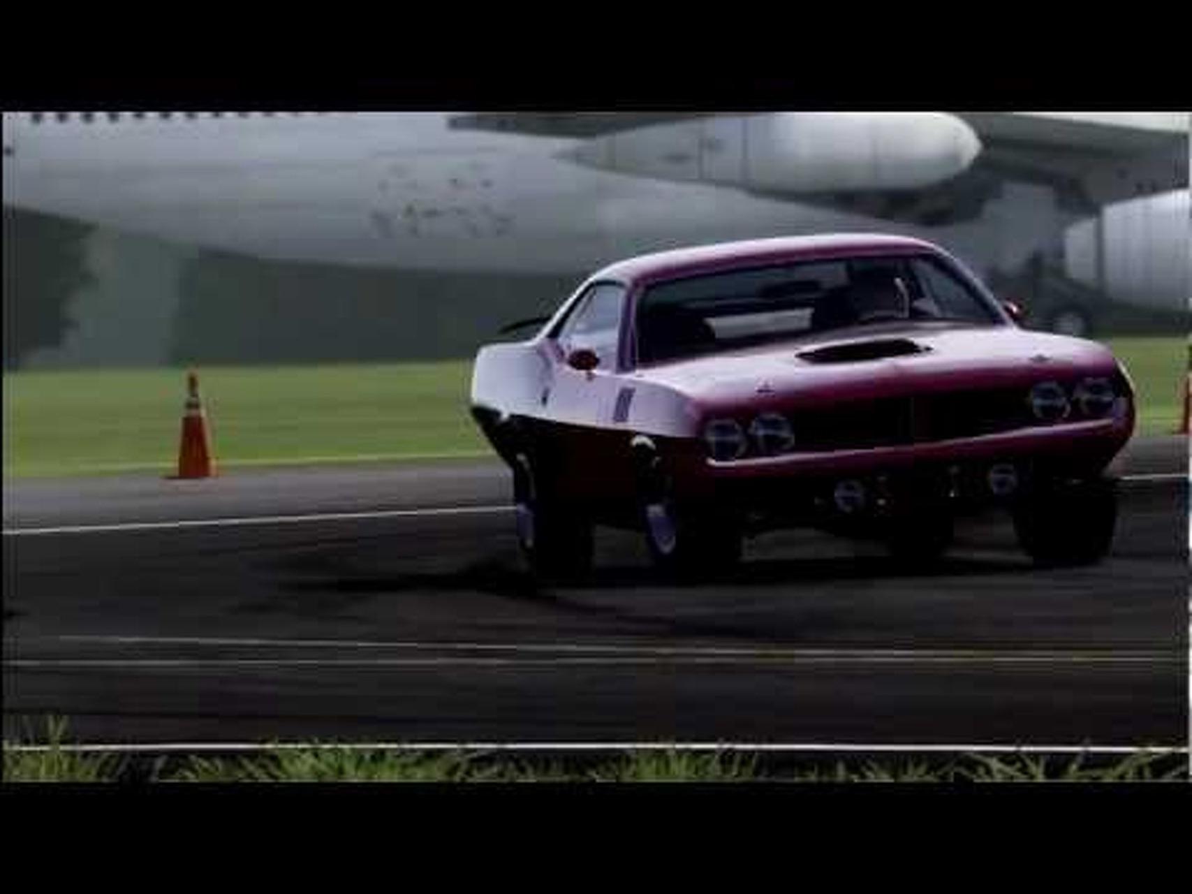 Forza Motorsport 4 Top Gear Power Laps: 1971 Plymouth Cuda 426 HEMI