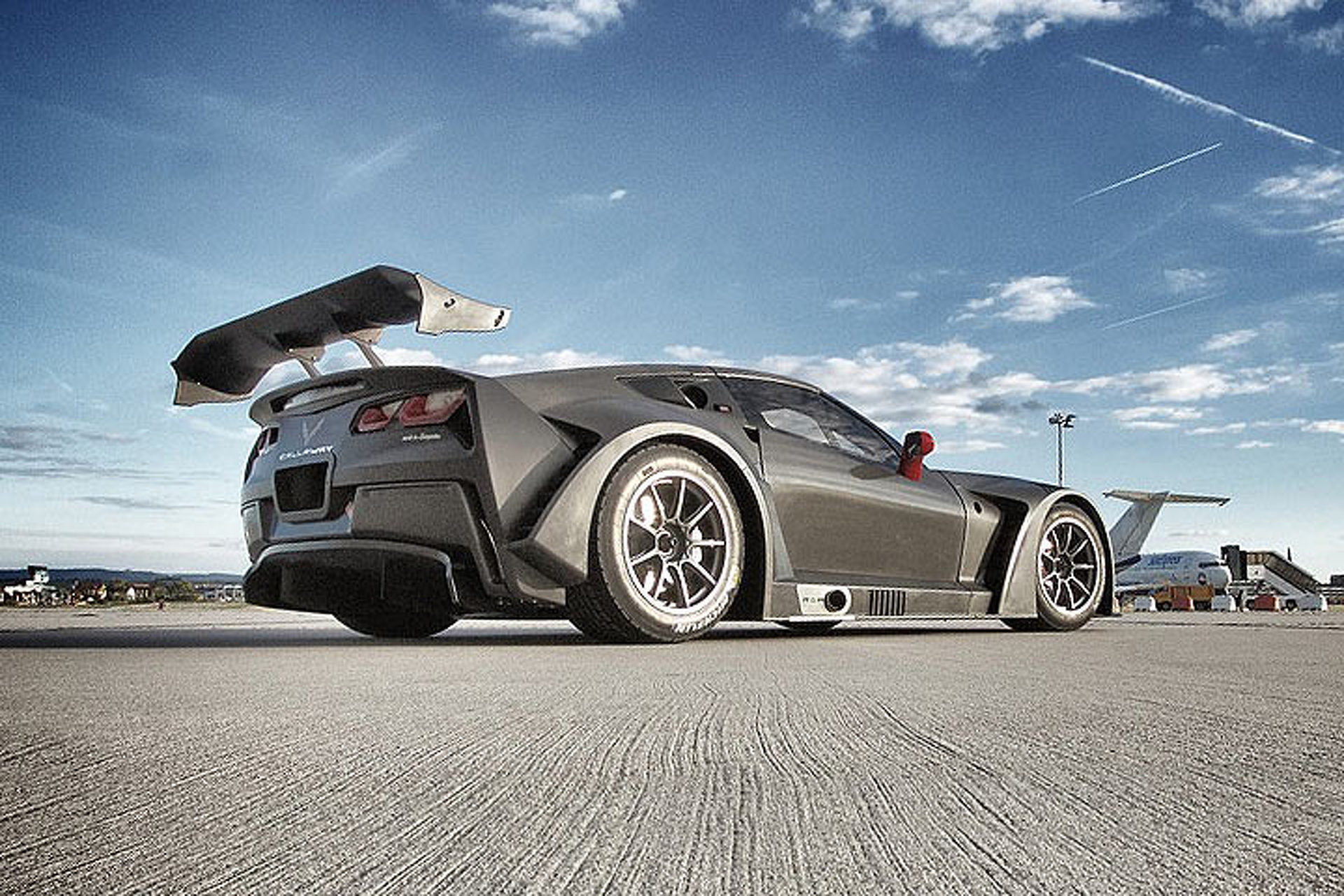 The Callaway Corvette GT3-R is a 600-HP Track Monster