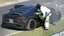 Lamborghini's latest bull is thirsty as Huracan runs out of gas on the 'Ring