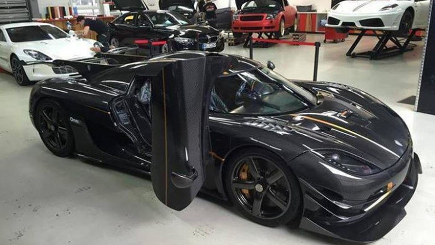 First Koenigsegg One:1 registered in Germany causes a computer glitch