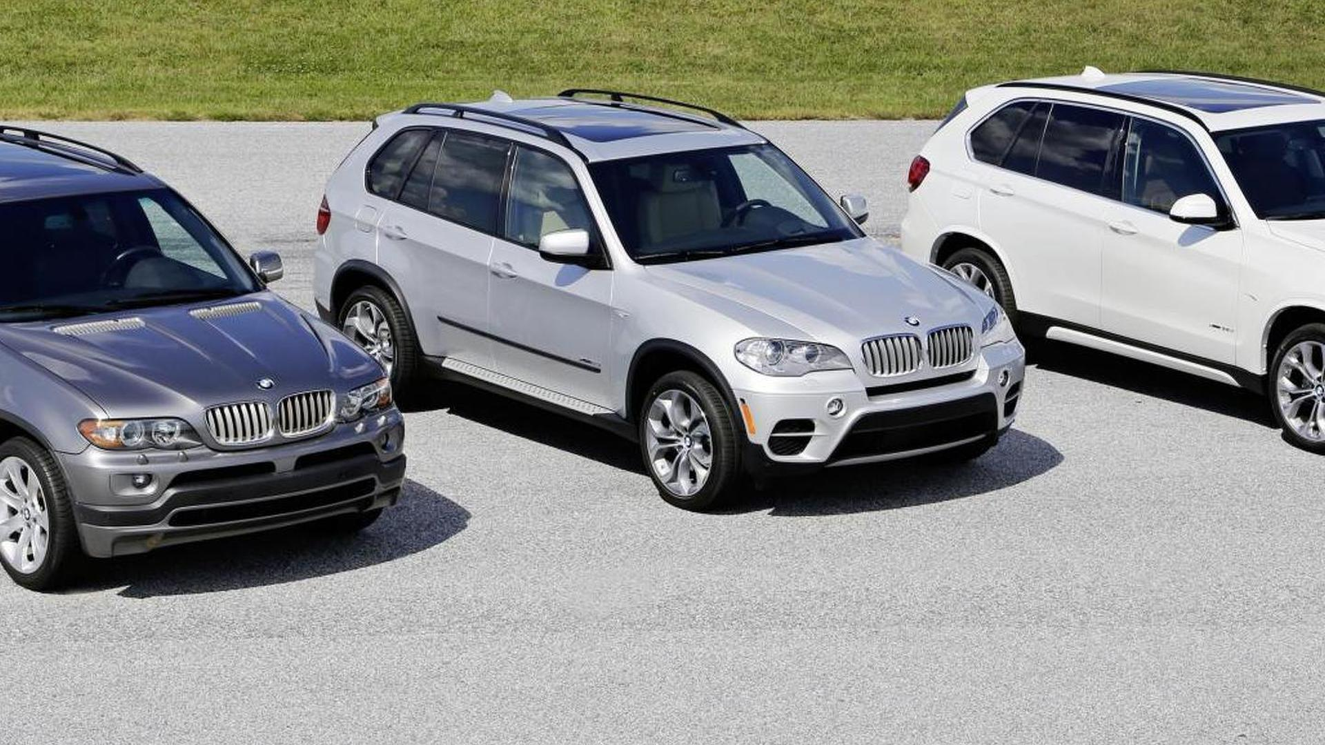 BMW celebrates the 15th anniversary of the X5