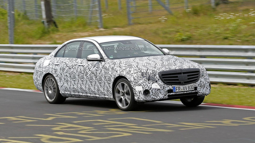 2016 / 2017 Mercedes E-Class returns to the Ring