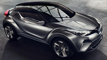 Production Toyota C-HR to debut in Geneva next year