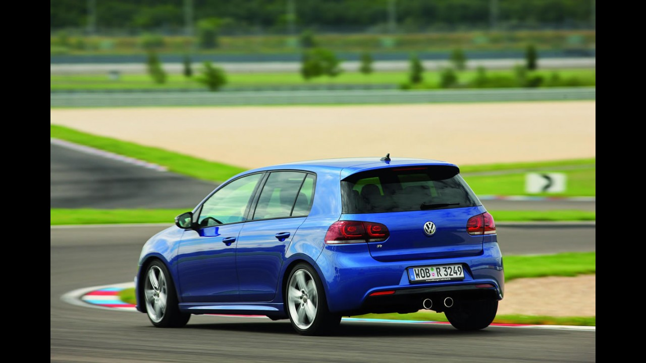 Novo Golf R: VW divulga mais imagens do Golf mais potente da história - Veja muitas fotos