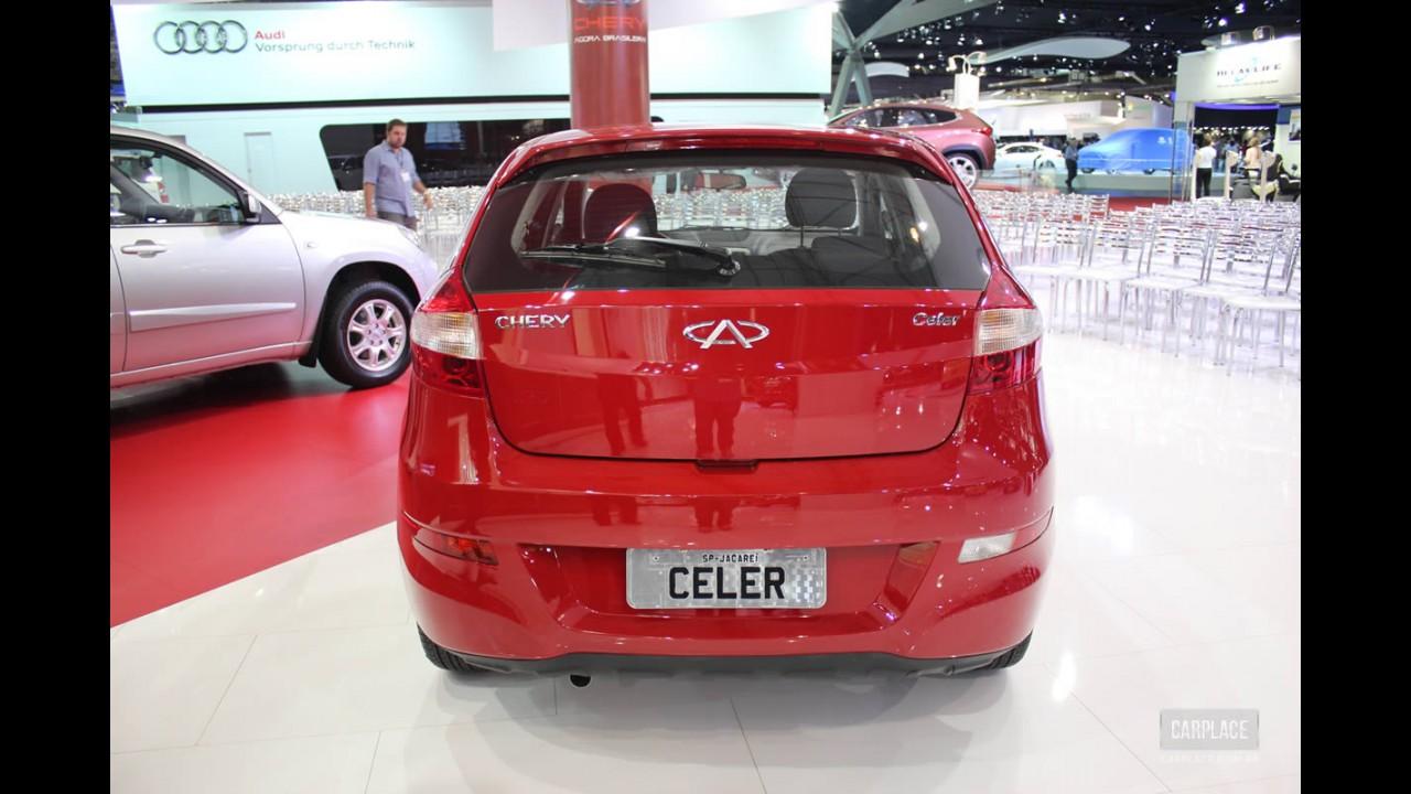 Salão do Automóvel: Chery Celer será o primeiro carro da marca produzido no Brasil