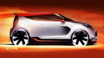 Kia Track-ster Concept teaser