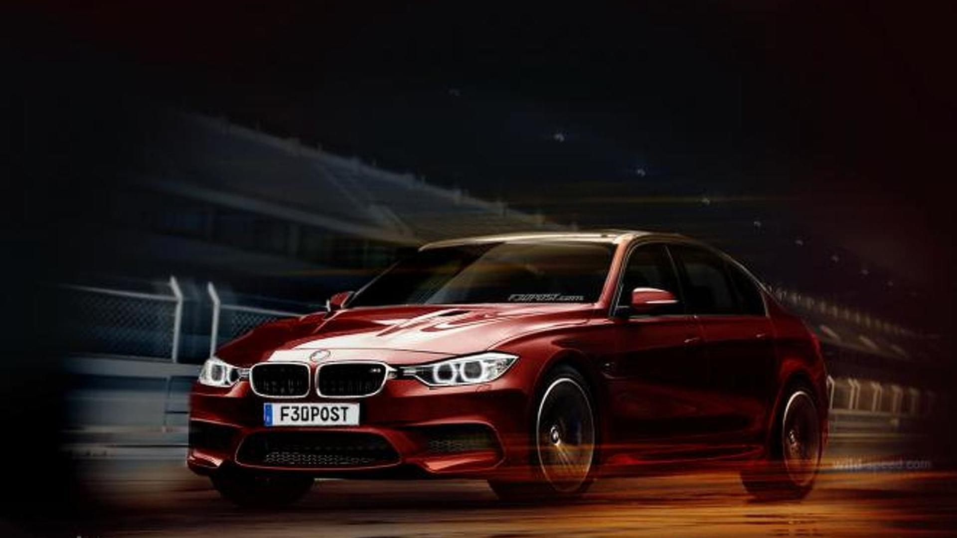 2014 BMW M3 (F80) artistically rendered... again