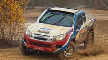 Isuzu D-Max ready for 2013 Dakar Rally
