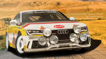 Audi Quattro RS7 Group B Tribute