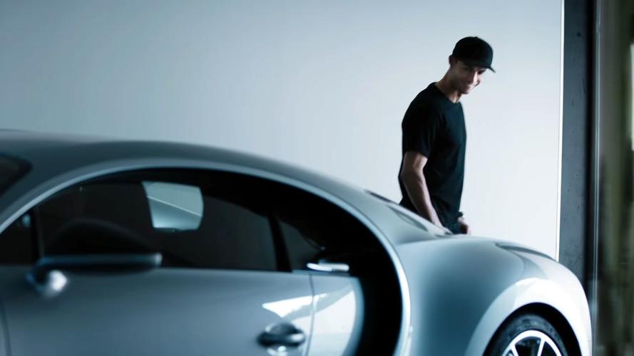 Cristiano Ronaldo approves Bugatti Chiron, is he getting one?