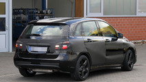 Mercedes B-Class AMG spied for the first time