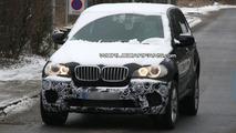 BMW X5 Facelift E70 first spy photos