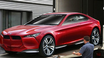 BMW Concept Vision Z Rendered