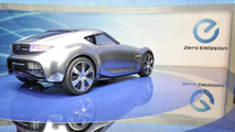 Nissan ESFLOW concept live in Geneva - 01.03.2011