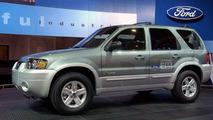 Ford Escape Hybrid E85 at Washington Auto Show