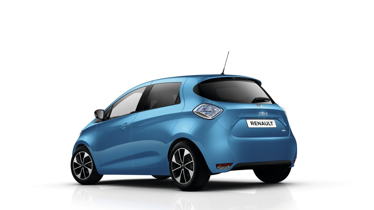 updated renault zoe z e 40 revealed. Black Bedroom Furniture Sets. Home Design Ideas