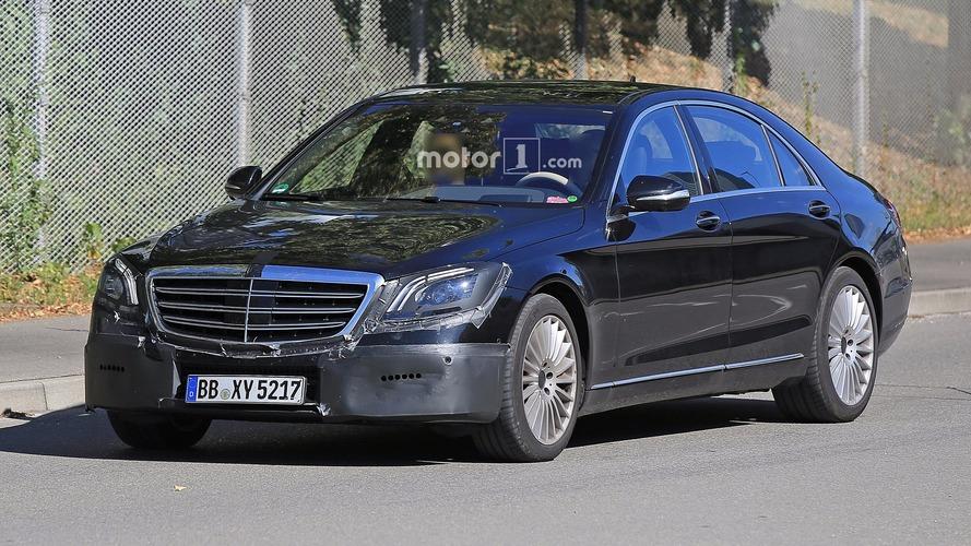 Mercedes Classe S facelift photos espion