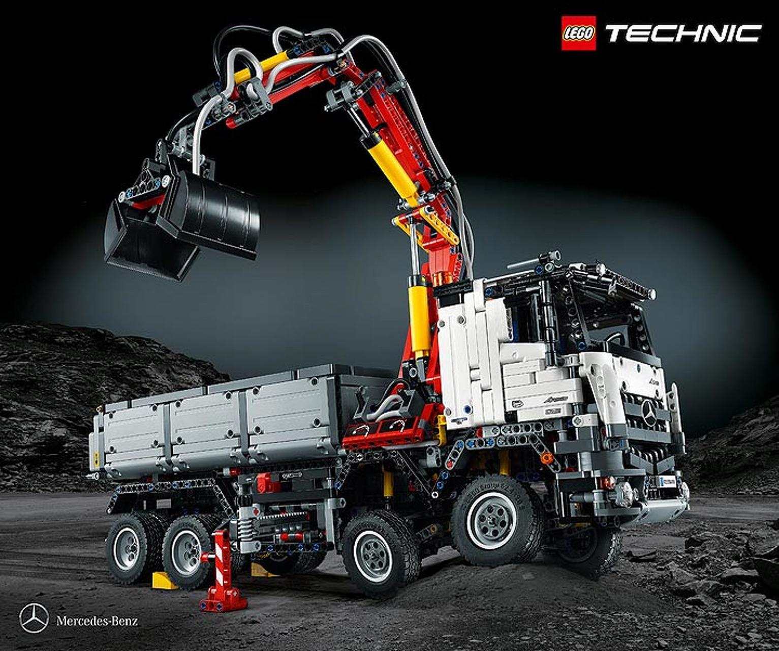 LEGO Brings Mercedes Trucks to a Living Room Near You