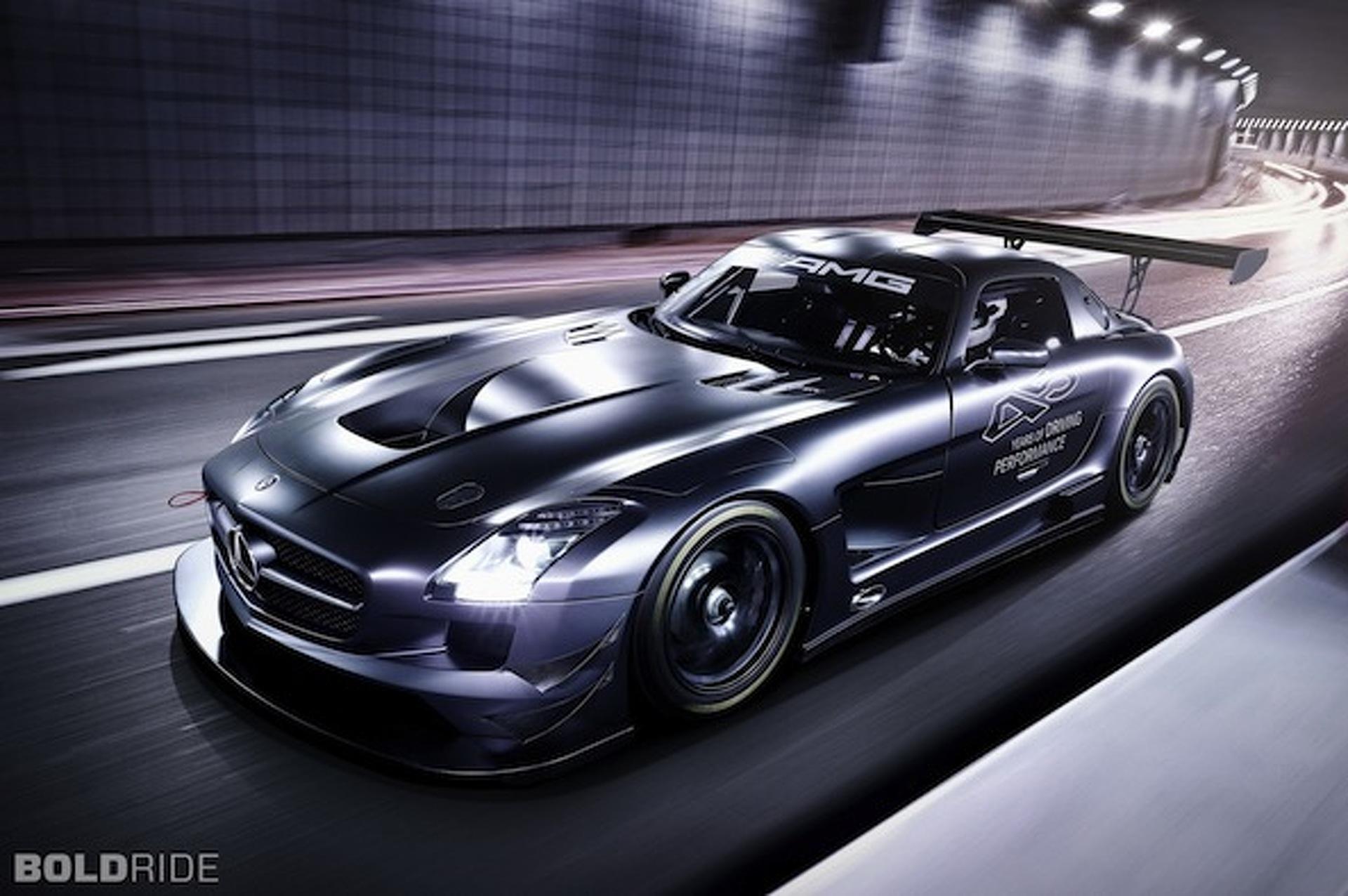 Wheels Wallpaper: 2013 Mercedes-Benz SLS AMG GT3