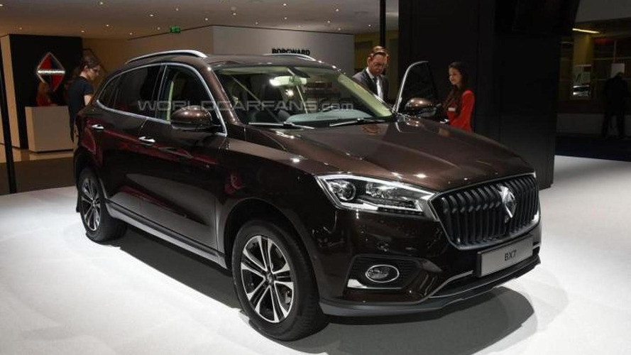 Borgward comes to life with BX7 crossover at IAA