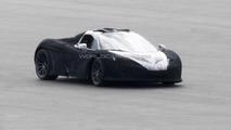 McLaren P1 caught playing with a Porsche 918 Spyder