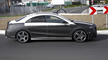 Mercedes CLA45 spy photo 22.10.2012 / Automedia