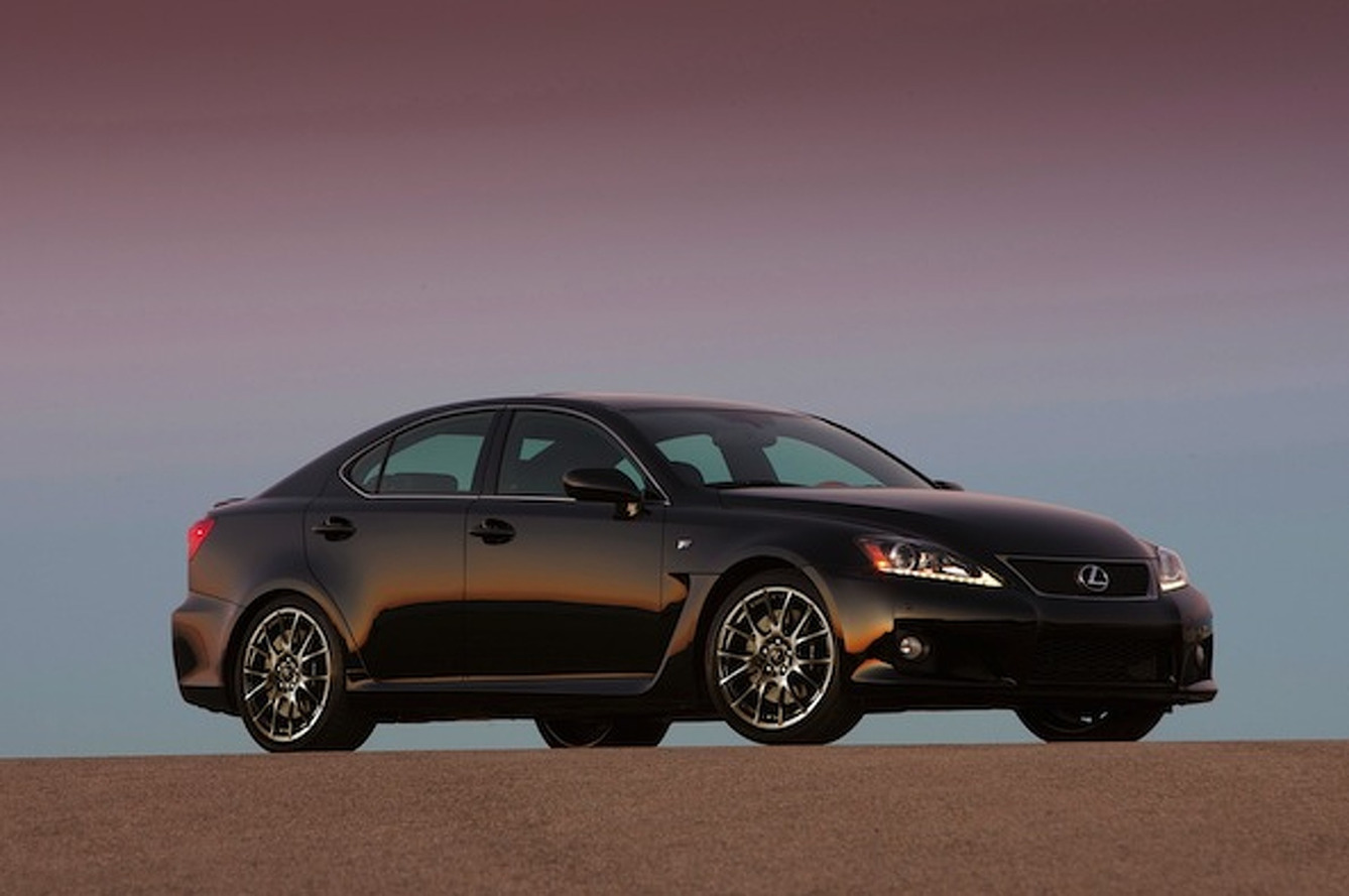 Lexus Axes IS F Production