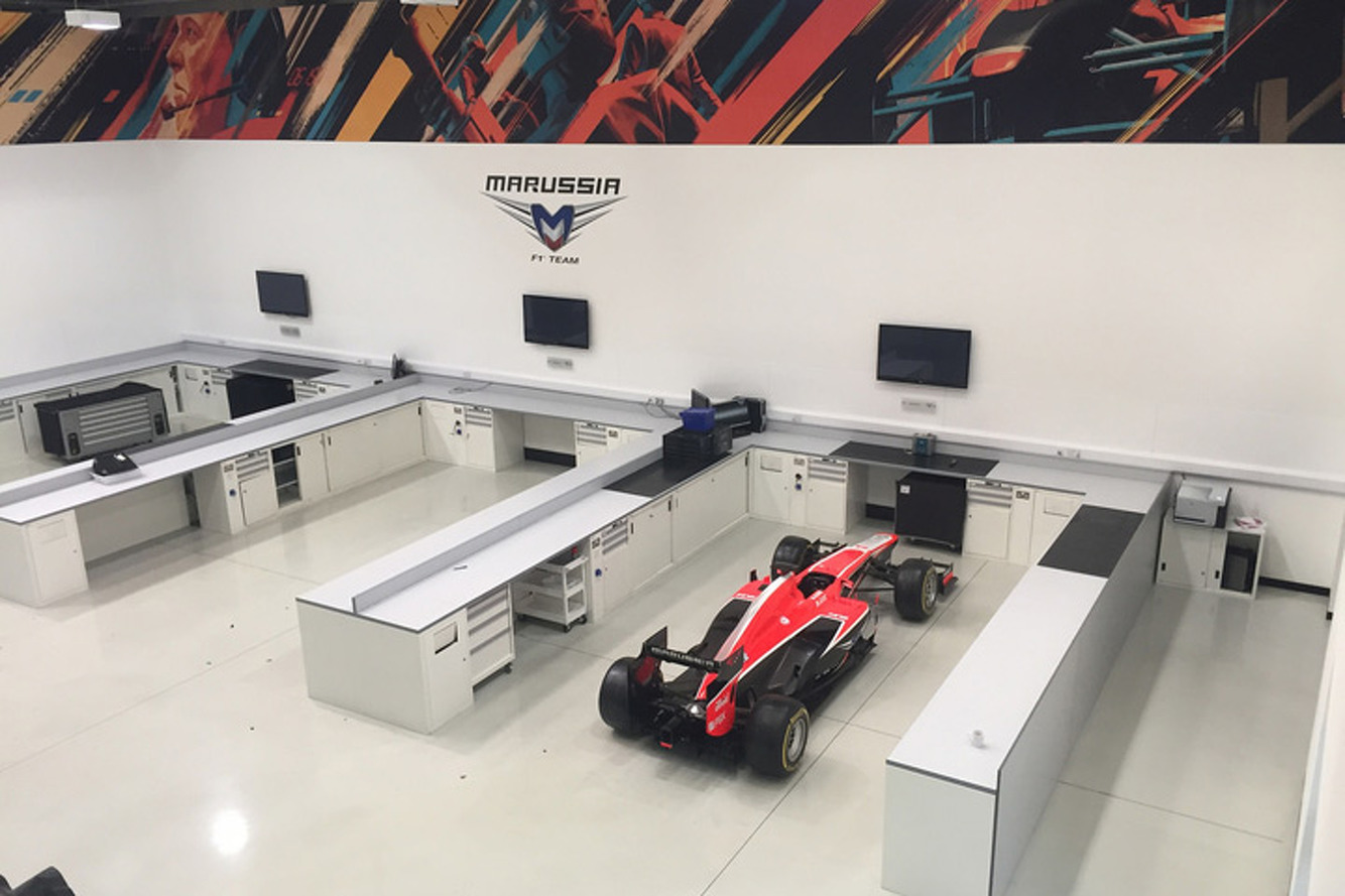 Marussia F1 Team Will Auction Off Everything