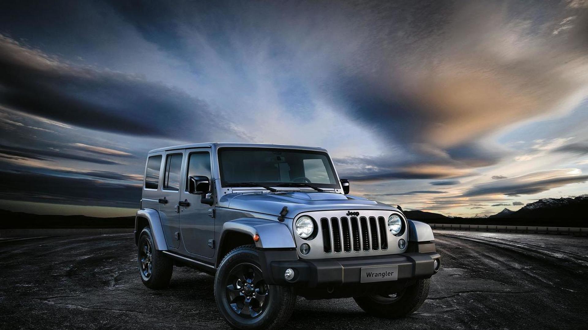 Jeep Wrangler Black Edition II unveiled for Geneva