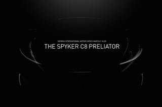 Spyker Planning Triumphant Return With C8 Preliator in Geneva