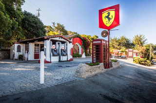 Ferrari Turned This California Gas Station Into the Ultimate Italian Pit Stop