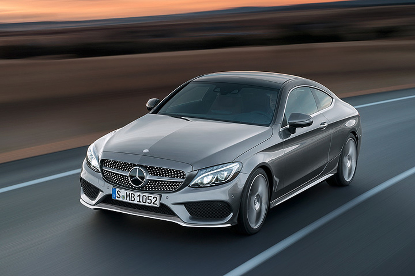 5 Things to Know About the 2017 Mercedes C-Class Coupe