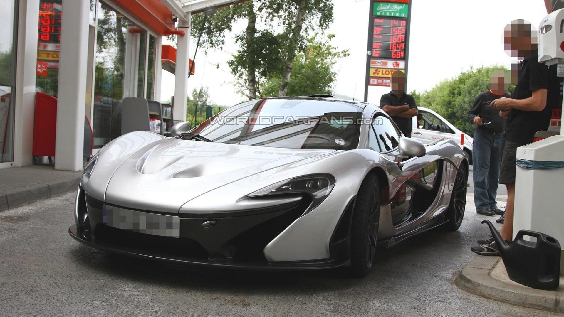 2014 McLaren P1 'XP2R' limited edition spied for the first time