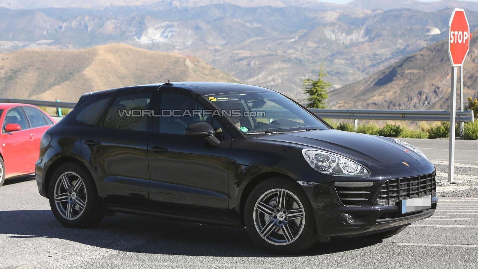 2014 Porsche Macan spied virtually undisguised