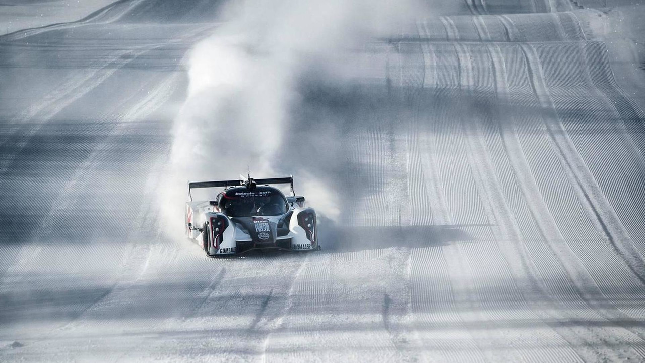 Rebellion R2K drifting in Sweden