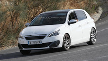 2014 Peugeot 308 GTi spied for the first time