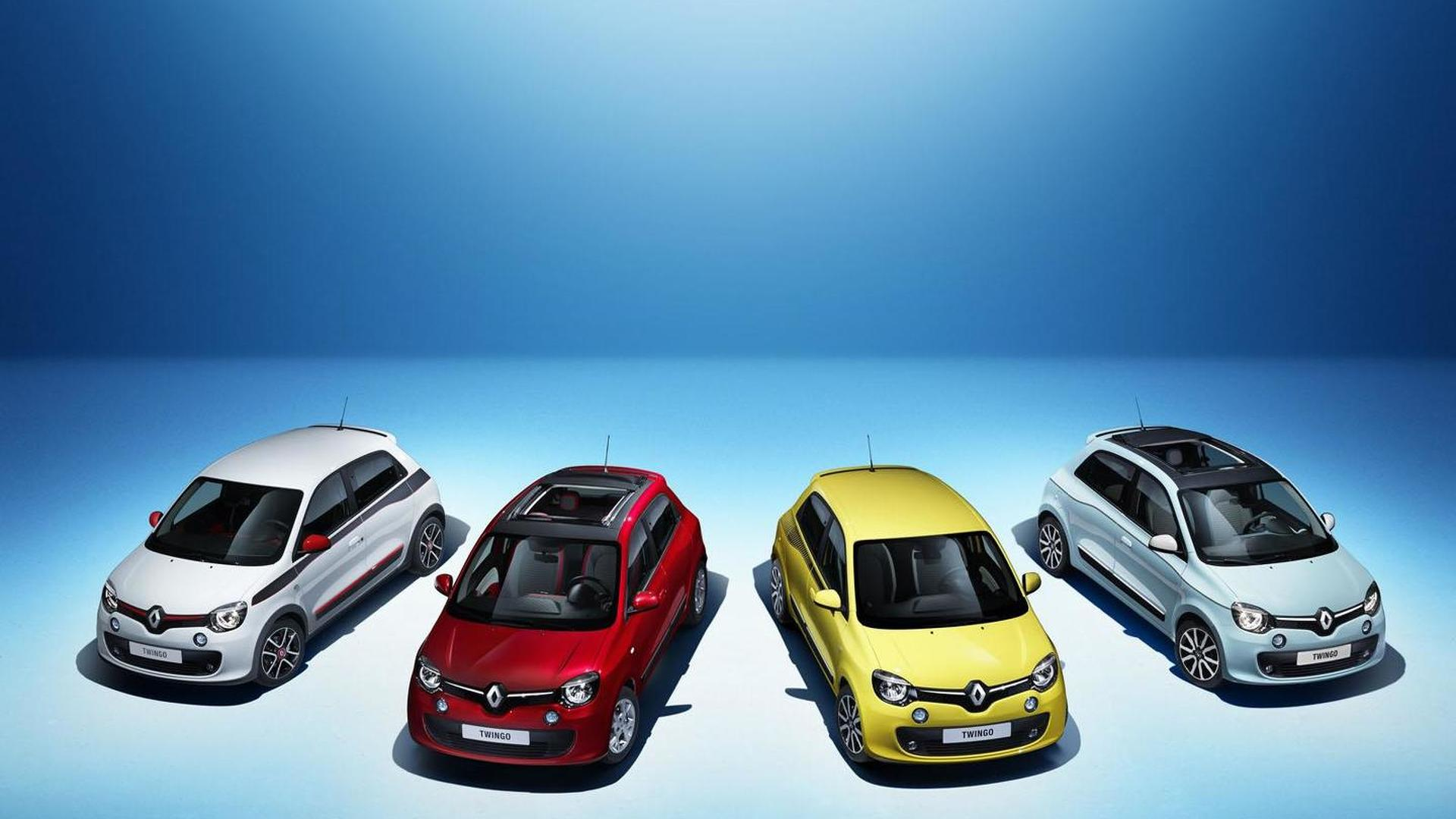 Renault Twingo hatchback and convertible revealed