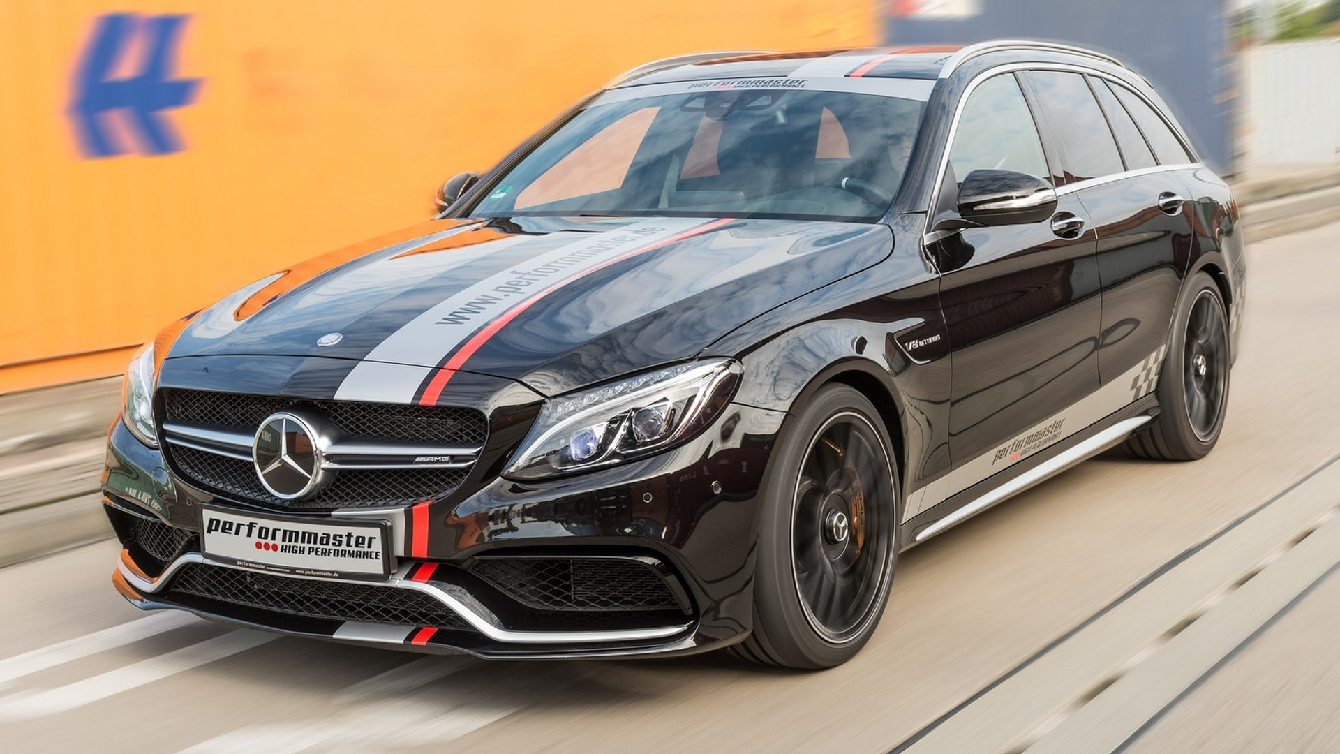 Mercedes-AMG C63 S Estate by performmaster packs a mighty 612 PS punch