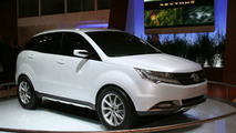 Ssangyong Debuts Giugiaro Styled C200 SUV in Paris