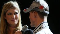 Schumacher bites back during media questioning
